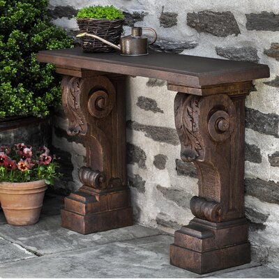 Dally Manor House Console Table Color: Natural