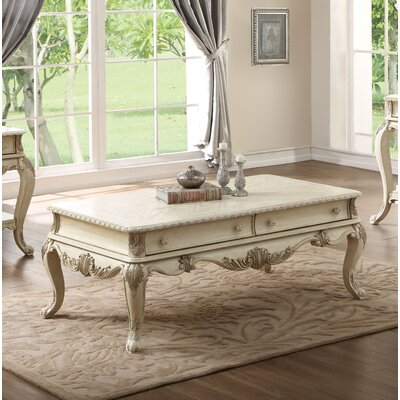 Welling Console Table Color: Antique White