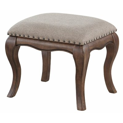 Shea Vanity Stool Color: Light Sandstone