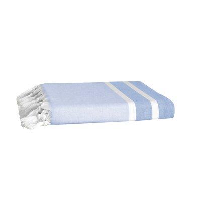 Pesthemal Fouta Turkish Cotton Bath Towel Color: Blue