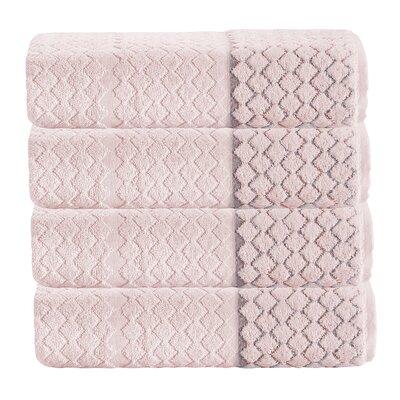 Isola 100% Cotton Towel Color: Peach