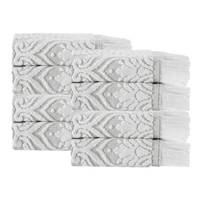 Laina 8 Piece 100% Cotton Towel Set Color: Beige