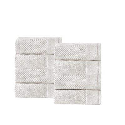 Incanto 100% Cotton Washcloth Color: Cream