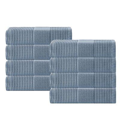 Ria Hand Towel Color: Navy