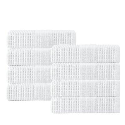 Ria Hand Towel Color: White