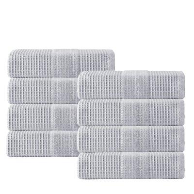 Ria Hand Towel Color: Silver