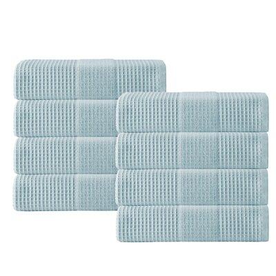 Ria Hand Towel Color: Aqua