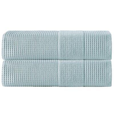 Ria Bath Towel Color: Aqua