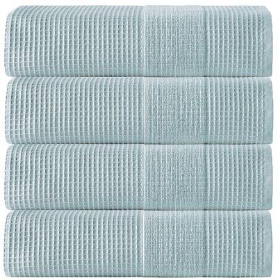 Ria Turkish Cotton Bath Towel Color: Aqua