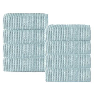 Ria 100% Cotton Washcloth Color: Aqua