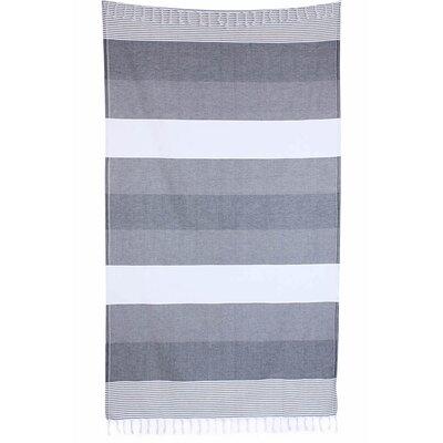 Pestemal Fouta 100% Cotton Beach Towel Color: Gray