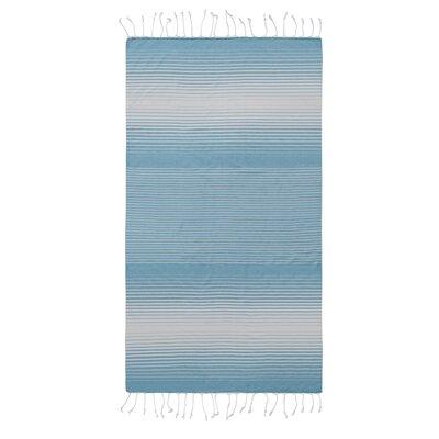 Pestemal Fouta 100% Cotton Beach Towel Color: Turqouise