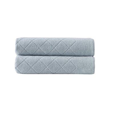 Violet Plush Turkish Cotton Bath Towel Color: Green