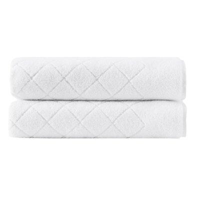 Vincent Turkish Cotton Bath Sheet Color: White