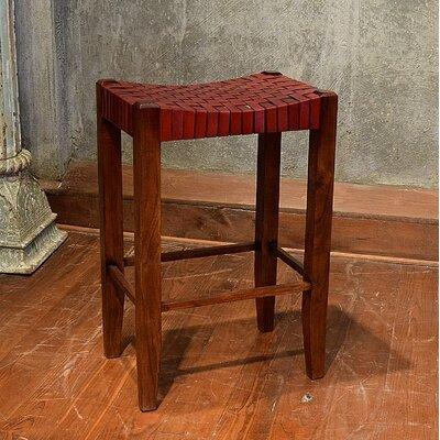 "Alessandro 30"" Bar Stool Upholstery: Burgundy"