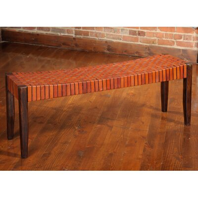 Alessandro Two Seat Bench Color: Apricot