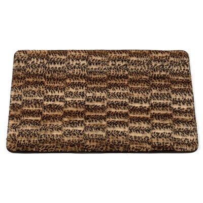 Shadai Cheetah Faux Fur Bath Mat