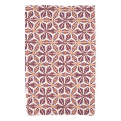 Viet Mosaic Beach Towel Color: Purple