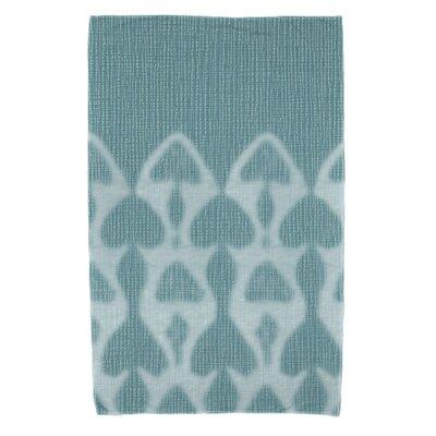 Viet Watermark Beach Towel Color: Teal