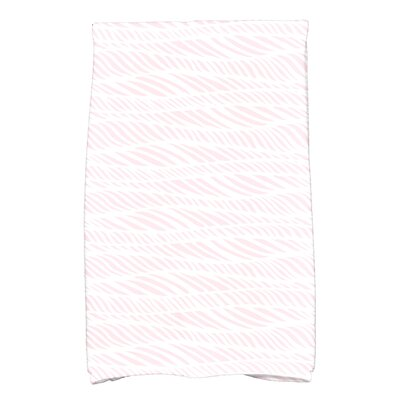 Viet Rolling Waves Hand Towel Color: Pink