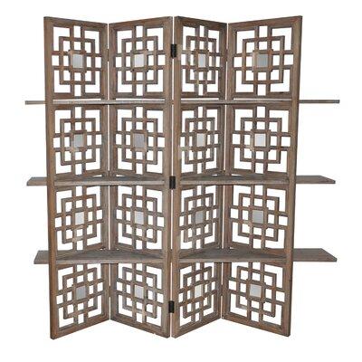 Luanne 4 Panel Room Divider