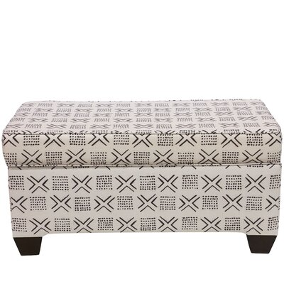 Frizzell Linen Upholstered Storage Bench