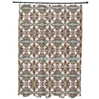 Viet Shower Curtain Color: Brown