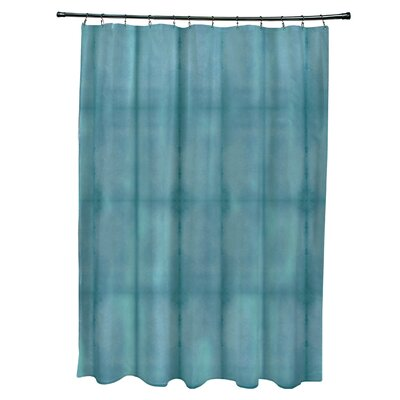 Viet Pool Shower Curtain Color: Teal