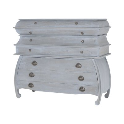 Brunella 8 Drawer Wood Chest Color: Gravesend Gray