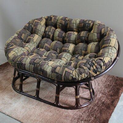 Bouirou Papasan Chair Upholstery: The Wild North