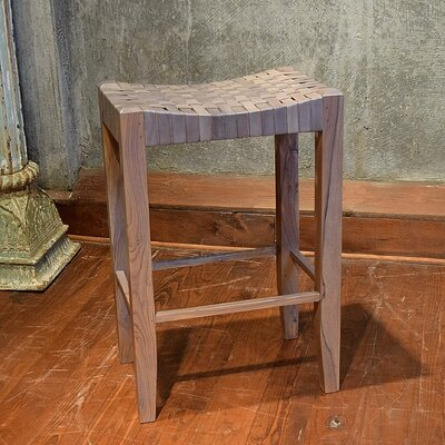 "Alessandro 30"" Bar Stool Upholstery: Grey"