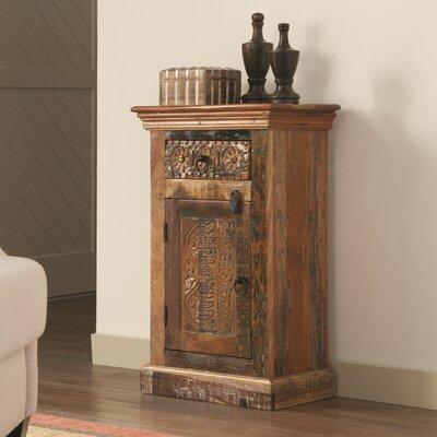 Mcfee Reclaimed Wood 1 Drawer 1 Door Accent Cabinet