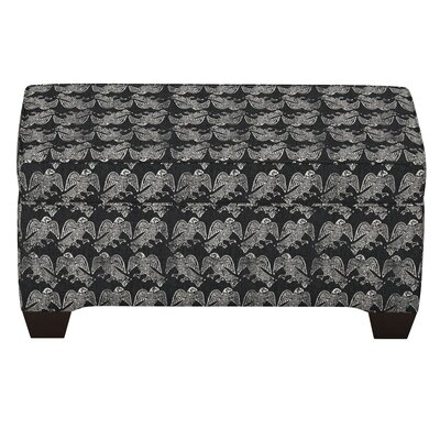 Faye Linen Upholstered Storage Bench