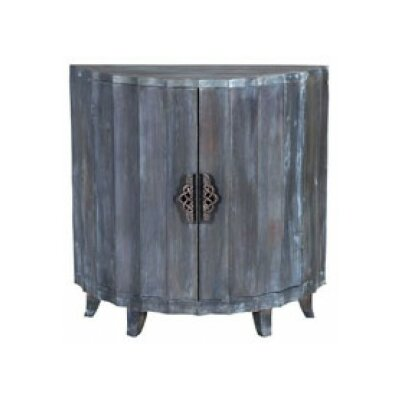 Arcene Demilune 2 Door Accent Cabinet Color: Antique Smoke