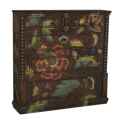 Aurelien 5 Drawer Accent Chest
