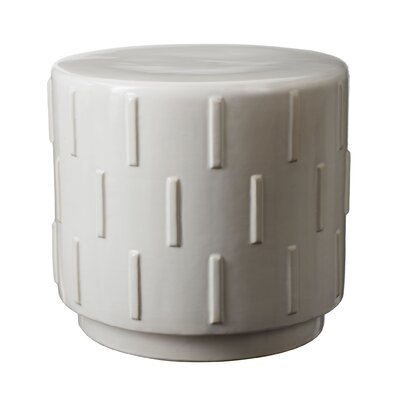 Jud Stool Color: White