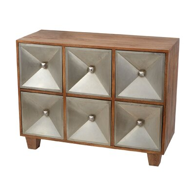 Pisek 6 Drawer Chest