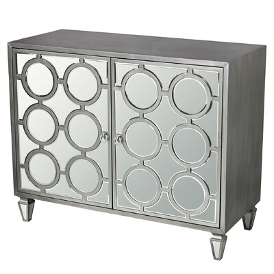 Apollo Platinum Ring Accent Cabinet
