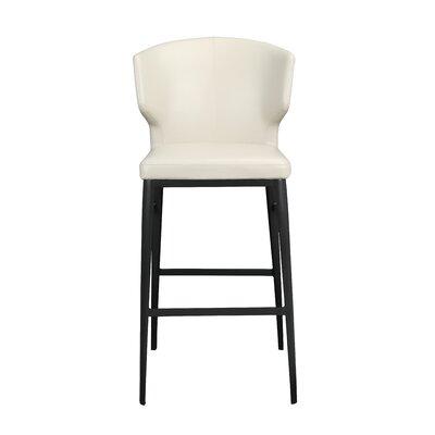 """Wimbledon 30"""" Bar Stool Upholstery: Beige"""