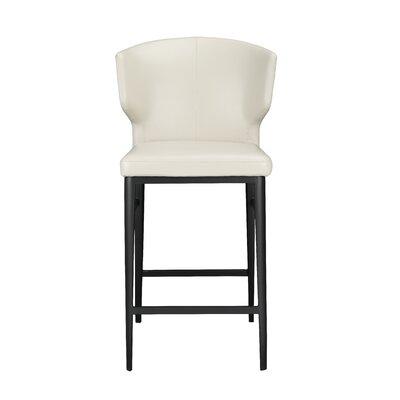 """Wimbledon 26"""" Bar Stool Upholstery: Beige"""