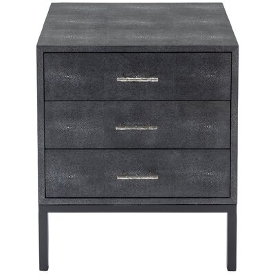 Wareham 3 Drawer Chest Color: Beige