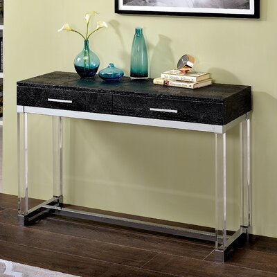 Maxwell Console Table Color: Black