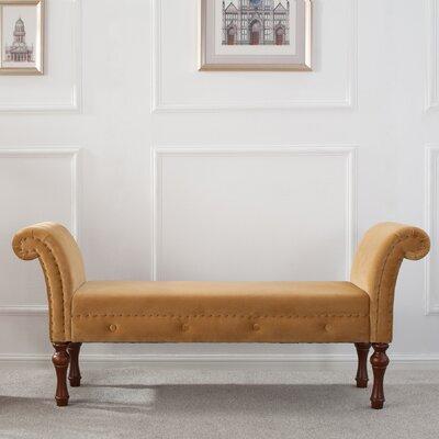 Escalera Bench Upholstery: Moss Green