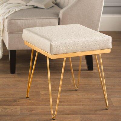 Novak Stool Upholstery Color: Cream