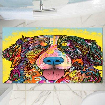 """Dean Russo's Dog Memory Foam Bath Rug Size: 24"""" W x 17"""" L"""