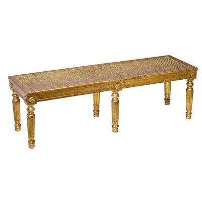 Wicker Bench