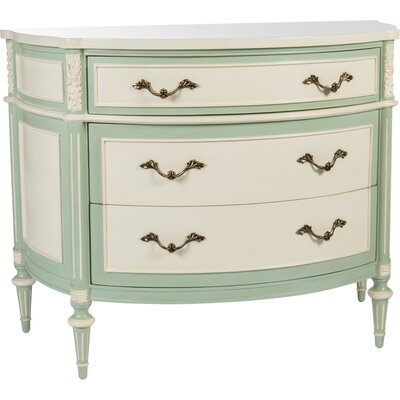 Commode 3 Drawer Accent Chest