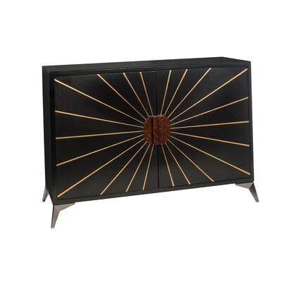 Accent Cabinet with Sunburst Dcor