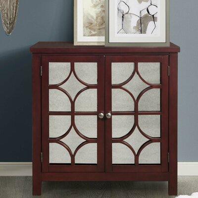 Debora Accent Cabinet Color: Antique Red