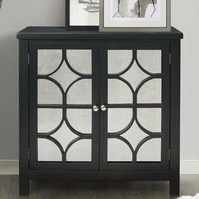 Debora Accent Cabinet Color: Antique Black